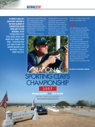 NATIONAL SPORTING CLAYS CHAMPIONSHIP