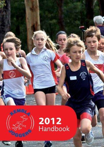 2012 Club Handbook - Kembla Joggers