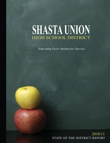 State of the District Report - Shasta Union High School District