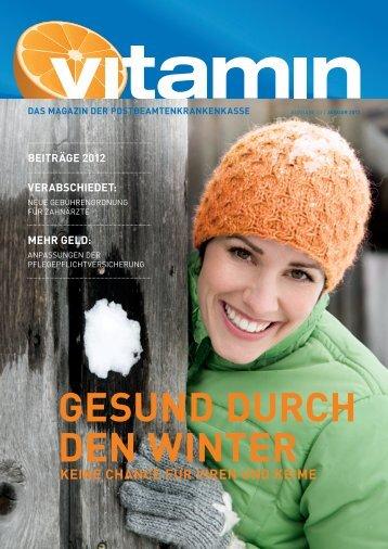 GESUND DURCH DEN WINTER - PBeaKK