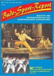 Budo-Sport-Report Heft 1+2/96
