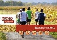 Sportlich fit mit Hafer! - alleskoerner.de