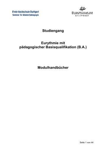 Modulhandbuch studiengang produktgestaltung mit abschluss for Produktgestaltung studium