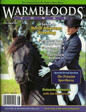 The Friesian - Friesian Sporthorse Association
