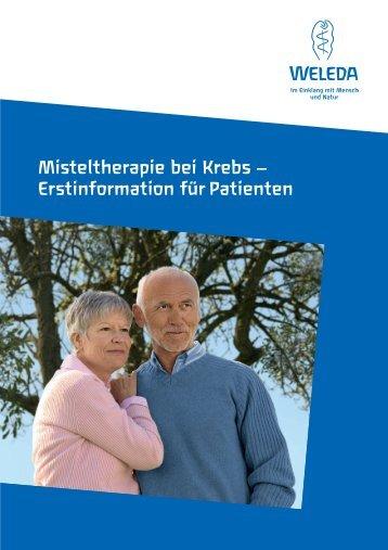 Misteltherapie Patienten- information - Weleda