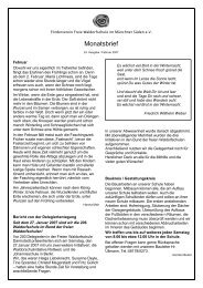 24.Monatsbrief Feb07 - Freie Waldorfschule Wolfratshausen
