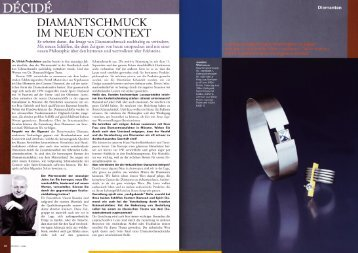 Diamantschmuck im neuen Context (PDF) - Freiesleben