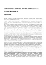 lettera circolare n° 48 marzo 2008 - Freie Volksmission Krefeld eV