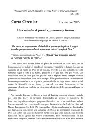 Carta Circular - Freie Volksmission Krefeld eV