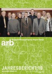 JAHRESBERICHT 10 - Angestelltenvereinigung Region Basel