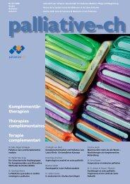 Soins palliatifs - Palliative ch