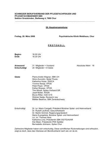 schweizer berufsverband der krankenschwestern und krankenpfleger