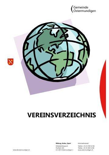 VEREINSVERZEICHNIS - Gemeinde Ostermundigen