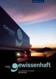 GEIGER TEXTIL GmbH Referenzen