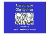 Chronische Obstipation (1,5 mb) - Dr. Carl Oneta