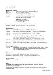 CV deutsch (PDF) - Hospiz im Park