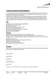 Anmeldung ambulante kardiale Rehabilitation ... - See-Spital