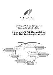 Infos... - Spitex Verband Kt. St. Gallen