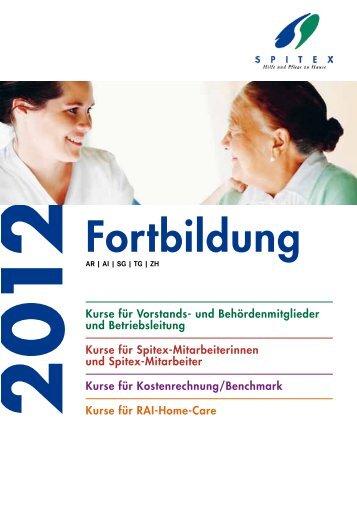 Fortbildung - Spitex Verband Kt. St. Gallen