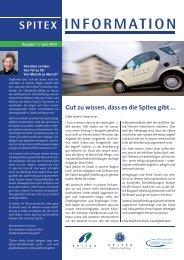 Ausgabe 1 / Juni 2010 - Spitex Zentrum Burgdorf