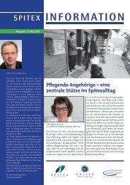 Ausgabe 3 / Mai 2011 - Spitex Zentrum Burgdorf