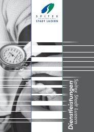 Dienstleistungen - Spitex Luzern