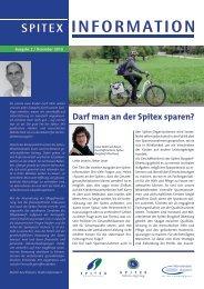 Ausgabe 2 / Dezember 2010 - Spitex Zentrum Burgdorf