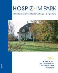 Hospiz Folio 2009 - Hospiz im Park