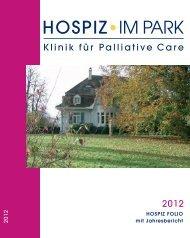Hospiz Folio 2012 - Hospiz im Park