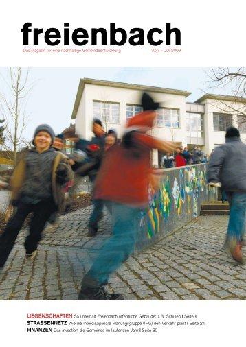 2009_1. Ausgabe [PDF, 2.00 MB] - Gemeinde Freienbach