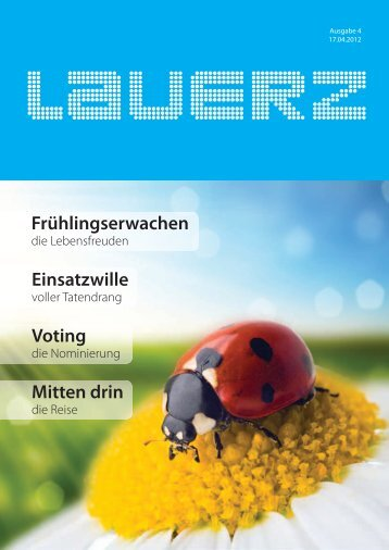 agenda 2012 - Gemeinde Lauerz