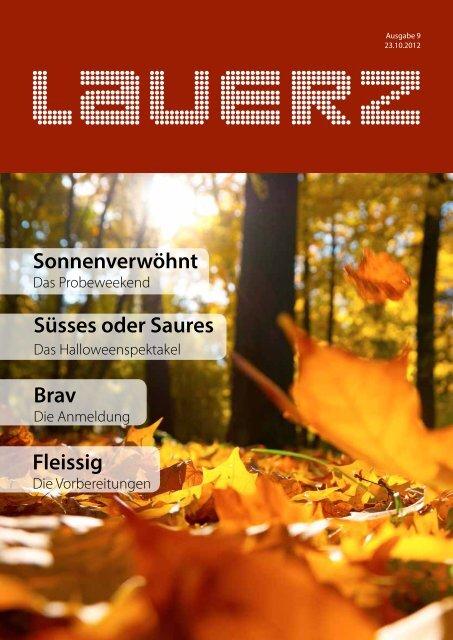 Sonnenverwöhnt Süsses oder Saures Brav ... - Gemeinde Lauerz