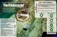 August 2009 - The Kiteboarder Magazine