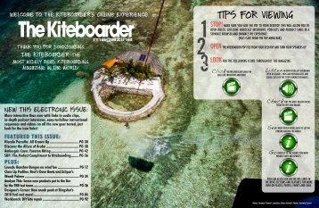August 2009 - The Kiteboarder Magazine