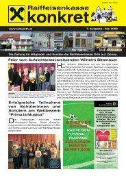 Mai 2008 - Raiffeisenkasse Orth