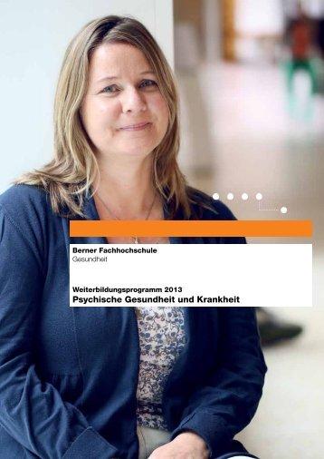Psychische Gesundheit und Krankheit - Gesundheit - Berner ...