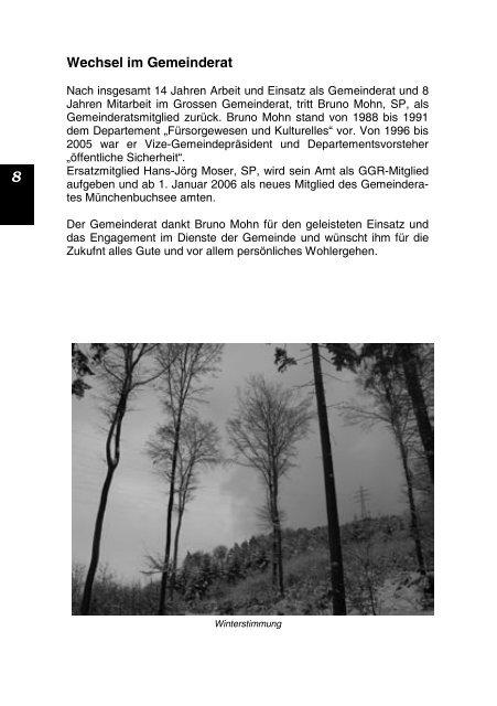 Buchsi -Info - Gemeinde Münchenbuchsee