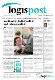 logispost Ausgabe 2 - Logis plus AG