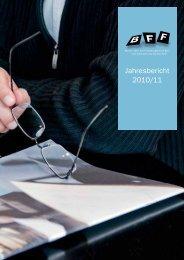 Jahresbericht 2010/11 - BFF Bern