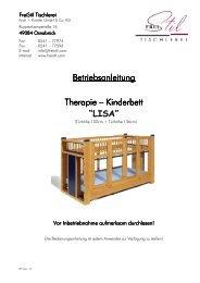 Kinderbett - FreiStil Tischlerei