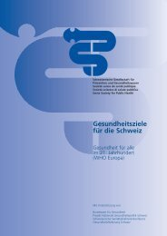 "OMS Sant"" ted. - Public Health Schweiz"