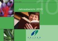 Jahresbericht 2010 - SPITEX BERN