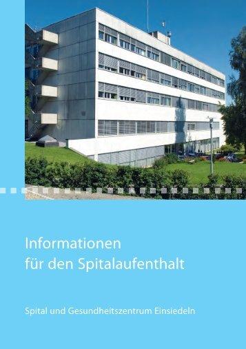 Informationen für den Spitalaufenthalt - Spital Einsiedeln