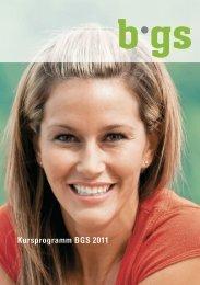 Kursprogramm 2011 - BGS-Chur