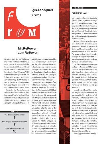 Mit RePower zum ReTower Igis-Landquart 2/2011 - Gemeinde Igis