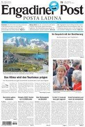 Engadiner Post Nr. 079 vom 07. Juli 2012