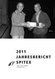 2011 JAHRESBERICHT SPITEX - Spitex Oberengadin
