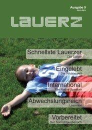 Ausgabe 9 - Gemeinde Lauerz