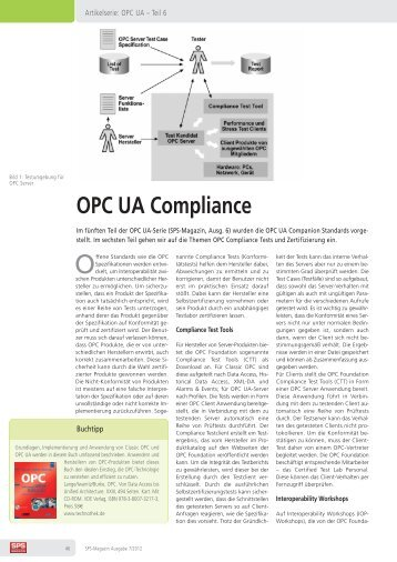 OPC UA Compliance Test - Softing Industrial Automation