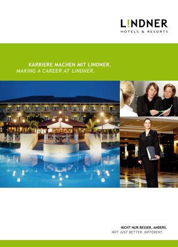 Download PDF - Lindner Hotels & Resorts